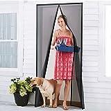 Homitt Insektenschutzvorhang Tür, Fliegengitter Magnetvorhang, Glasfaser, magnetischer Türvorhang,...