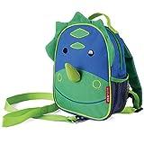 Skip Hop Zoo Rucksack, für Kinder, mit Leine, Sicherheitsleine, mehrfarbig, Dinosaurier Dakota
