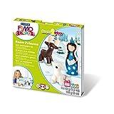 FIMO kids ModellierSet Form Play ´Snow princess´, Level 2