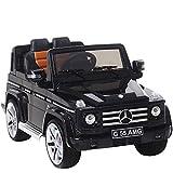 UEnjoy Mercedes SUV Kinderauto Kinderfahrzeug Elektro Spielzeug 12V Lizenziert AMG G55 mit...