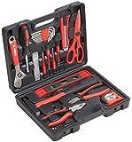 Meister Haushaltskoffer 44-teilig ✓ Werkzeug-Set ✓ Werkzeug für den täglichen Gebrauch |...