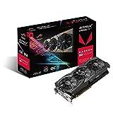 Asus ROG Strix RXVEGA56-O8G-Gaming Grafikkarte (AMD Radeon, PCIe, 8GB HBM2 Speicher, DVI, HDMI,...