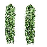 RZX Künstlicher Bambushänger Kunstpflanze ca,80cm (2PCS)