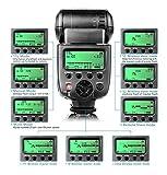 CameraPlus® CPN580TTL Meister Speedlite-i-TTL-Blitzautomatik (TTL Speedlite) Gratis-Diffusor für...