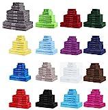 NatureMark 10 tlg. Frottier Handtuch-Set verschiedene Größen 4x Handtücher, 2x Duschtücher, 2x...