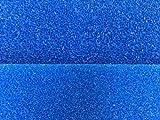 Filtermatte Filterschwamm 50 x 50 x 5 cm Fein PPI 30