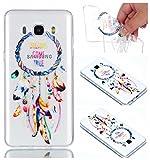 Samsung Galaxy J7 2016 Hülle Case, Cozy Hut® [Relief Series] Ultra Dünn [Crystal Case]...