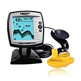 Lixada Sonar Fisch Sucher(2 in 1 Wired/Wireless) Fischfinder Echolot Sensor Transducer Fisch...