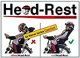 Head-Rest Comfort Kinder Kopfhalterung u. Nackenstütze zum Schlafen im Fahrradsitz Römer Jockey...