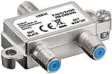 Wentronic 51445 SAT-Schalter verteilt/schaltet 1 LNB auf 2 SAT-Receiver