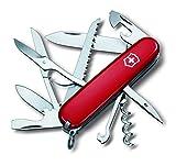 Victorinox Taschenmesser Huntsman (15 Funktionen, Schere, Holzsäge, Korkenzieher, Schraubendreher,...