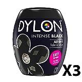 Dylon Maschine Dye Pod Intense Black X3