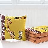 Pillow INS Pillow Multifunktionales Falten Niedliches Bedrucktes Lendenkissen Soft Fashion Nick...
