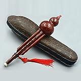 ammoon Chinesische Hulusi Kunstharz Gourd Cucurbit Flöte Musikinstrument ethnischen mit der...