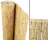 Schilfrohrmatten Premium 'Beach', 180 hoch x 600cm breit, ein Produkt von bambus-discount -...