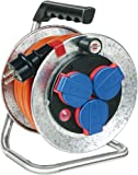 Brennenstuhl Garant S Kompakt IP44 Kabeltrommel (10m - Stahlblech, Einsatz im Außenbereich, Made In...