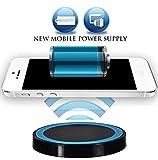 Wireless Ladegerät Induktive - Ladestation Qi Charger Samsung Galaxy S8 Active, Galaxy Note8, Apple...