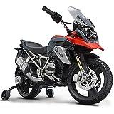 ROLLPLAY Elektro-Motorrad, Mit Stützrädern, Für Kinder ab 3 Jahren, Bis max. 35 kg, 6-Volt-Akku,...