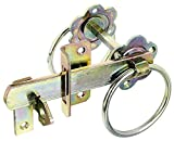 GAH-Alberts 210250 Gartentorverschluss für hohe Tore oder Flechtzauntüren - galvanisch gelb...