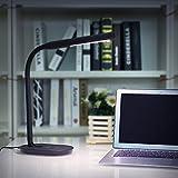 Aglaia Schreibtischlampe, LED Eye-Care Tischleuchte mit USB Anschluss für Aufladen, 7W, Touch...