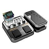 Asmuse NUX MG 100 Elektrische Gitarren Multieffekte Professionel Multi Effekt Pedal Prozessor Looper...