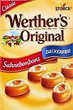 Werther's Original Sahnebonbon Minis zuckerfrei - Mini Bonbons ohne Zucker mit lang...