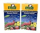 Etisso Schneckenkorn regenfestSchnecken-Linsen 4x200g Power-Packssehr hohe Lockwirkung