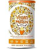 Vegan Protein (Pumpkin Spice) - Protein aus Reis, Hanfsamen, Lupinen, Erbsen, Chia-Samen, Leinsamen,...
