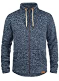 SOLID Luki Fleece Jacke, Größe:XL;Farbe:Insignia Blue Melange (8991)