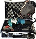 Makita GA5030RSP1 Winkelschleifer 125 mm im Koffer inklusiv Zubehör 720 W, 230 V, türkisschwarz,...