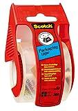 Scotch E5020D Verpackungsklebeband im Handabroller, 20 m x 50 mm, transparent