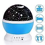 LED Star Projektor, Ubegood Sternenhimmel Projektor Romantische Nachtlicht 360 Dreht Grad Projektor...