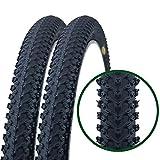 Paar Fincci MTB Mountainbike Fahrrad Reifen 26 x 2.125 57-559