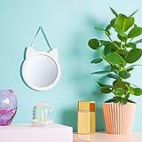 Wandspiegel Katze | Kinder Spiegel | Spiegel Kinderzimmer | Geschenke für Mädchen | Kinderspiegel...