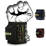 Grsta Beste Magnetische Armbänder, mit 5 leistungsstarken Magneten Magnet Armbänder für Holding...