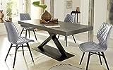 Altacom Esstisch Gorizia   Tisch   Küchentisch   Schiefer Optik   180 cm x 90 cm   ausziehbar...