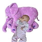 Plüschtier Elefant Kuscheltier zum Einschlafen Baby Kleinkind Plüschelefant aus flauschigem...