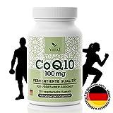 Coenzym Q10 Kapseln - hochdosiert 100mg • 120 Kapseln (4 Monatsvorrat) • Für mehr Energie &...