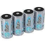 ANSMANN wiederaufladbar LSD Akku Batterie geringe Selbstentladung Mono D 8500mAh maxE NiMH...