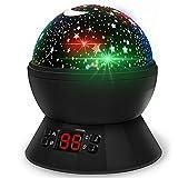 [Neuste] Sternenhimmel Projektor Lampe Babylampe Weihnachtsgeschenke mit Timer 8 Farbkombinationen 4...