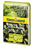 Floragard Bio Kräuter- und Aussaaterde 10 L • torfreduzierte Bio-Spezialerde • zum Aussäen,...