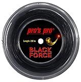 Tennissaite Pro Black Force 1.24 200m