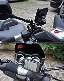 BrainWizz ® Motorrad Roller Fahrrad Handy Halterung für Apple iPhone 5 & 5S