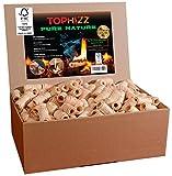 Pure Nature - 2 kg Premium Holzwolle-Anzünder Wachs - FSC zertifiziert - keine Schmutz -...