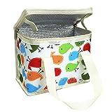 Kühltasche Lunch Tasche Isoliertasche zur Arbeit und Schule gehen 4 Liter , 22 x 17 x 12 cm (beige...