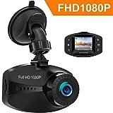 Earthtree Dashcam HD 1080p Autokamera mit Sony Sensor WDR G-Sensor Loop Aufnahme Motion Detection...