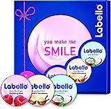 Labello Geschenkset Lippenpflege Lip Butter, 1er Pack (1 x 3 Stück)