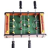 Mini-Fußballtisch MDF Durable Spiel Viel Spaß 36.5 cm x 21.5 cm x 9cm Geburtstag Urlaub Geschenke...
