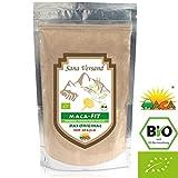 BIO Maca Pulver 500g Original aus Peru. Reines Maca Wurzel enthält Vitamine, Aminosäuren und...