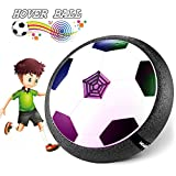 Waitiee Kids Hover Ball Spiel Spielzeug mit leistungsstarken LED Light and Music Air Power Soccer...